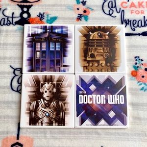 Other - 💙 Doctor Who Coasters 💙